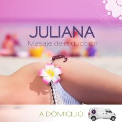 Masajes de reducción (JULIANA)